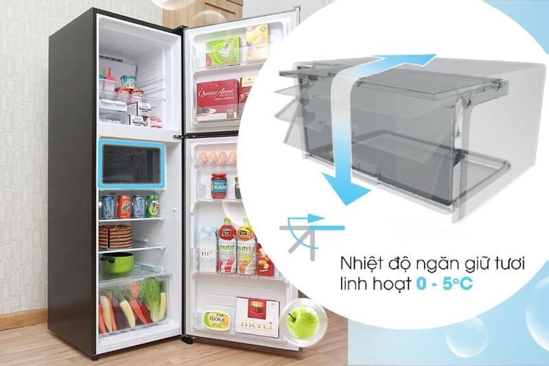 Tủ Lạnh Sharp Inverter 224 lít SJ-X251E-DS 3
