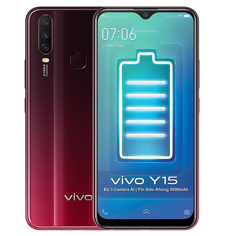 Điện Thoại Vivo Y15 (4GB/64GB) - Hàng New Seal