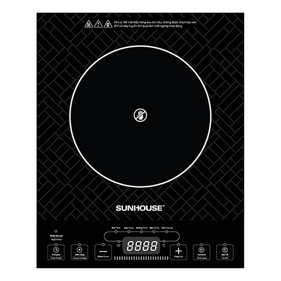 Bếp Hồng Ngoại Cảm Ứng Sunhouse SHD 6011 (2000W)
