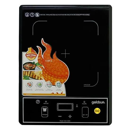 Bếp Hồng Ngoại Cơ Goldsun Gsh-3009 (2000W) - Hàng chính hãng