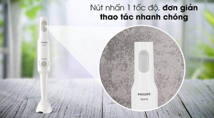 Máy Xay Sinh Tố Cầm Tay Philips HR2531/00 4
