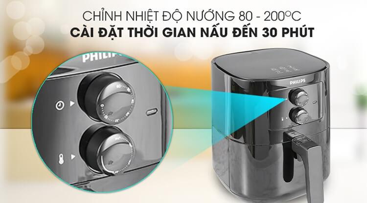 Nồi Chiên Không Dầu Philips HD9200/90 6