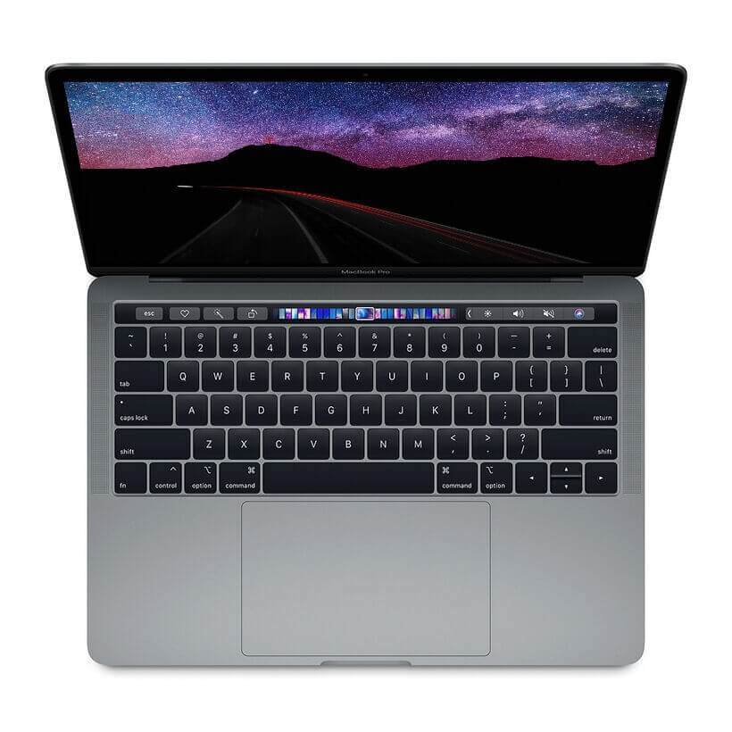 Apple Macbook Pro Touch Bar 2019 - 13 inchs ,Core i5, Ram 8GB , SSD 128GB - Hàng Nhập Khẩu