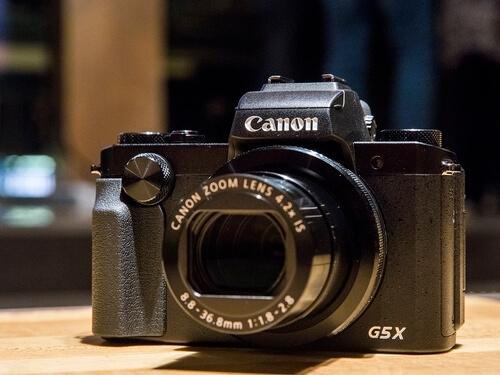 Máy Ảnh Canon Powershot G5X 1