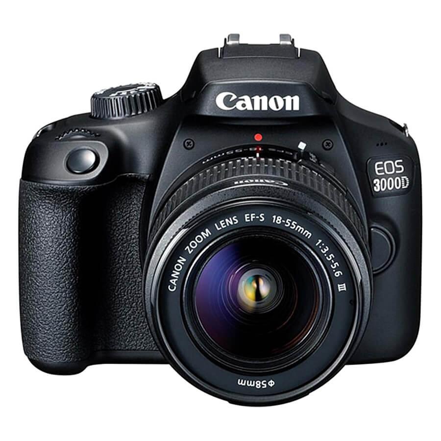 Máy Ảnh Canon EOS 3000D + Lens EF-S 18 - 55mm III