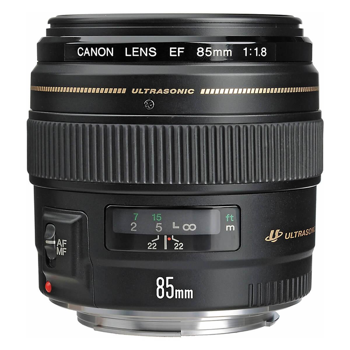 Lens Canon 85mm f/1.8 USM EF