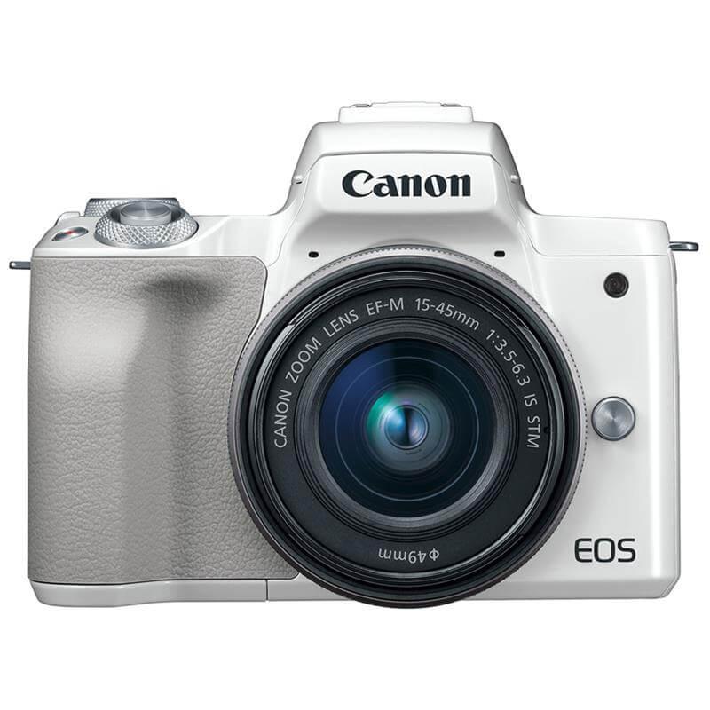 Máy Ảnh Canon EOS M50 + Kit 15-45mm (24.1MP)