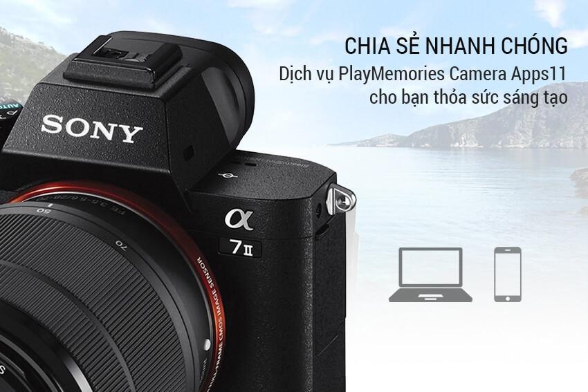 Máy Ảnh Sony Alpha A7 Mark II 6