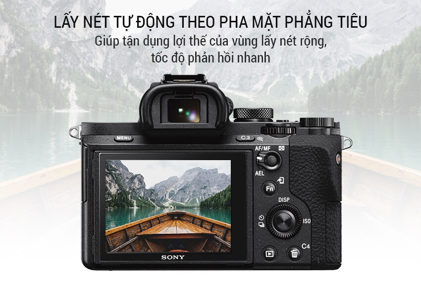 Máy Ảnh Sony Alpha A7 Mark II 2