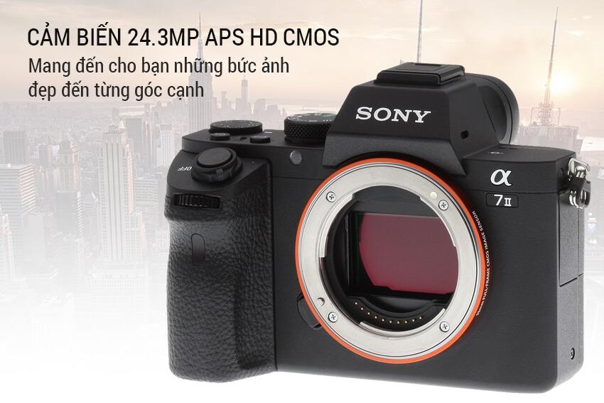 Máy Ảnh Sony Alpha A7 Mark II 4