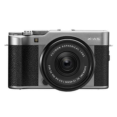 Máy Ảnh Fujifilm X-A5 + lens 15-45mm F3.5-5.6 OIS (24.2MP)