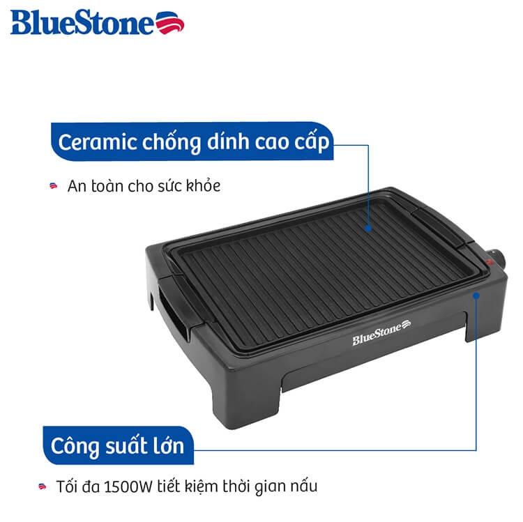 Vỉ Nướng Điện Ceramic Bluestone EGB-7418 (1500W) 2