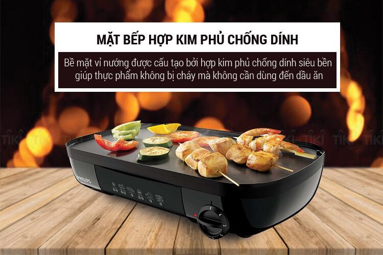 Vỉ Nướng Điện Philips HD-6320  3
