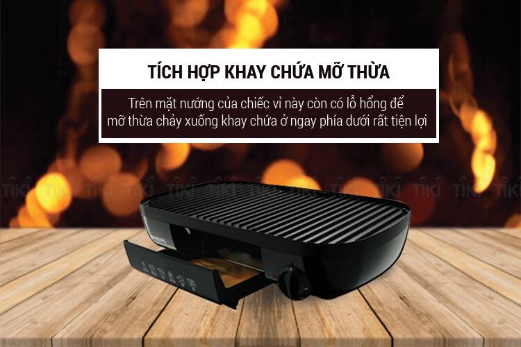 Vỉ Nướng Điện Philips HD-6320 5