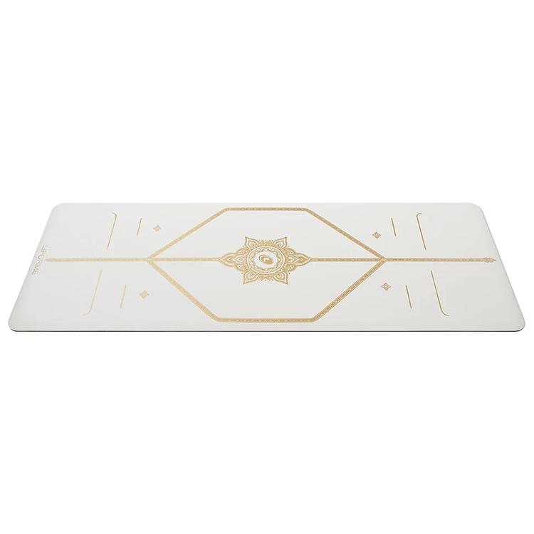 Thảm tập yoga định tuyến PU Liforme White Magic 4.2 mm