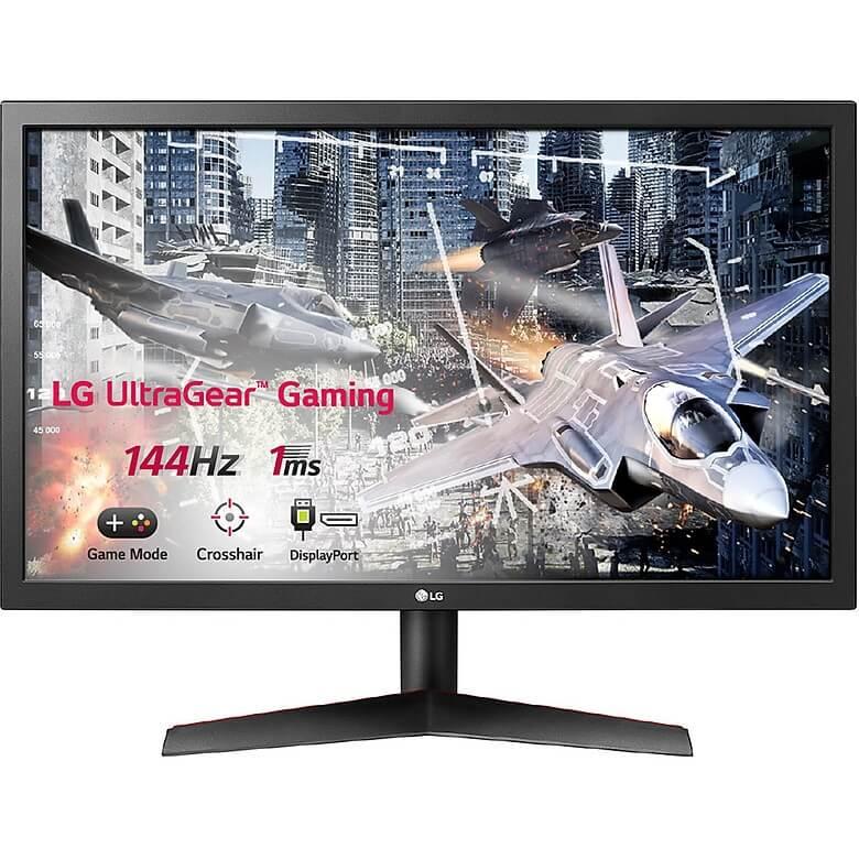 Màn Hình Gaming LG UltraGear 24GL600F-B 24 inch Full HD (1920 x 1080) 1ms 144Hz Radeon FreeSync TN