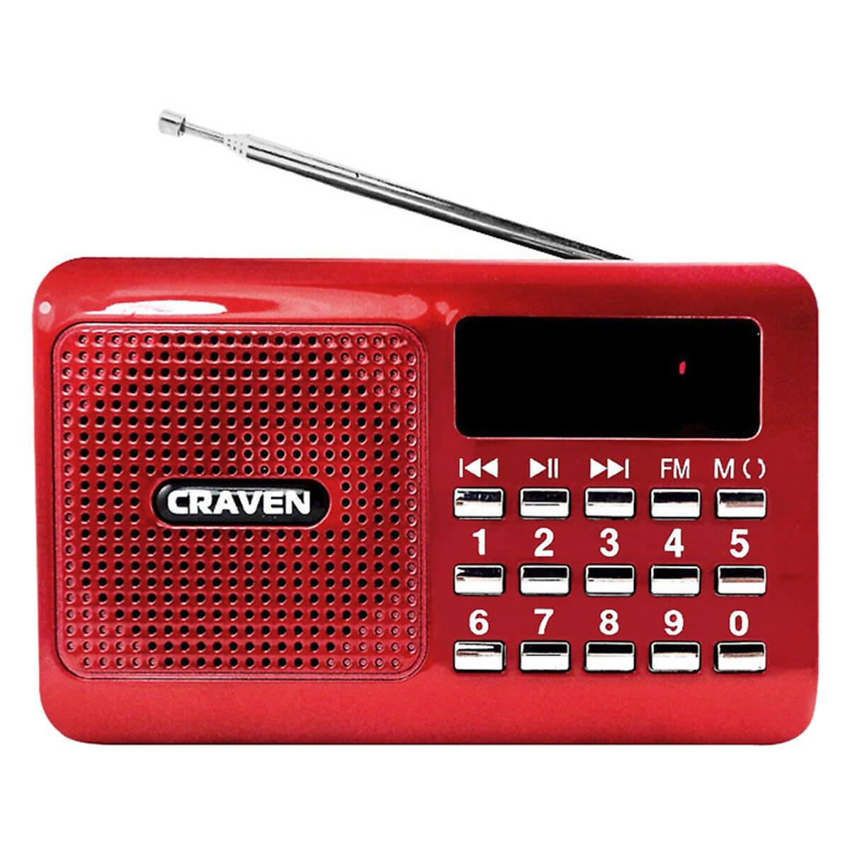 Loa Nghe Nhạc Usb Thẻ Nhớ Craven Cr-16