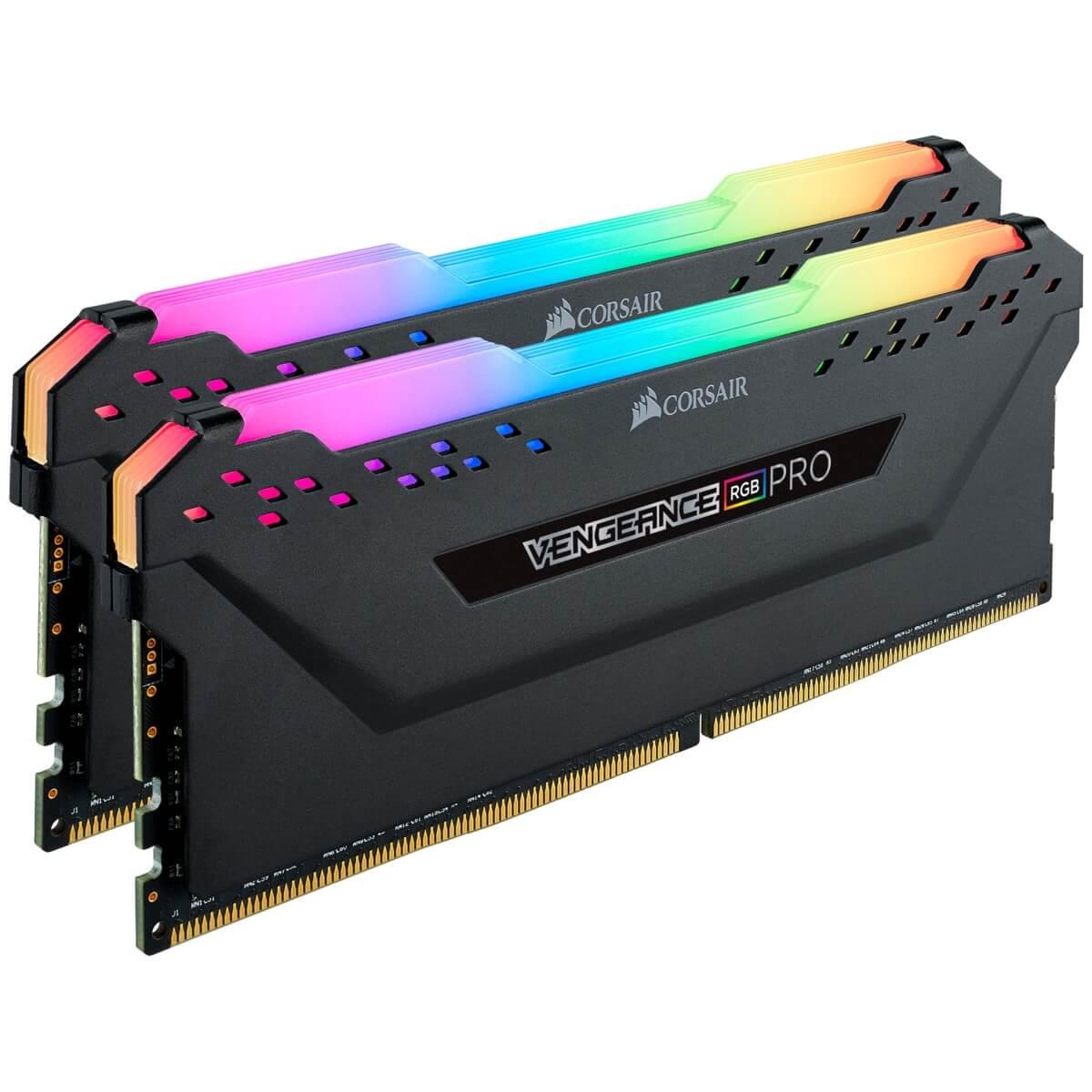 Bộ nhớ RAM máy tính CORSAIR Vengeance RGB Pro CMW16GX4M2E3200C16 (2x8GB) DDR4 3200MHz