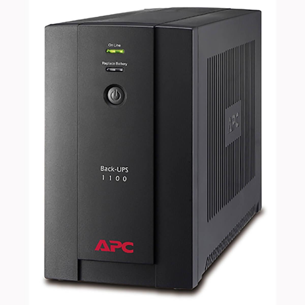 Bộ lưu điện : APC Back-UPS 1100VA, 230V, AVR, Universal and IEC Sockets - BX1100LI-MS