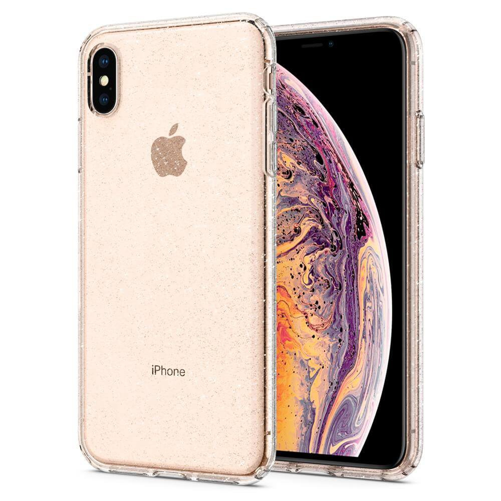 Ốp Lưng iPhone XS Spigen Liquid Crystal Glittes