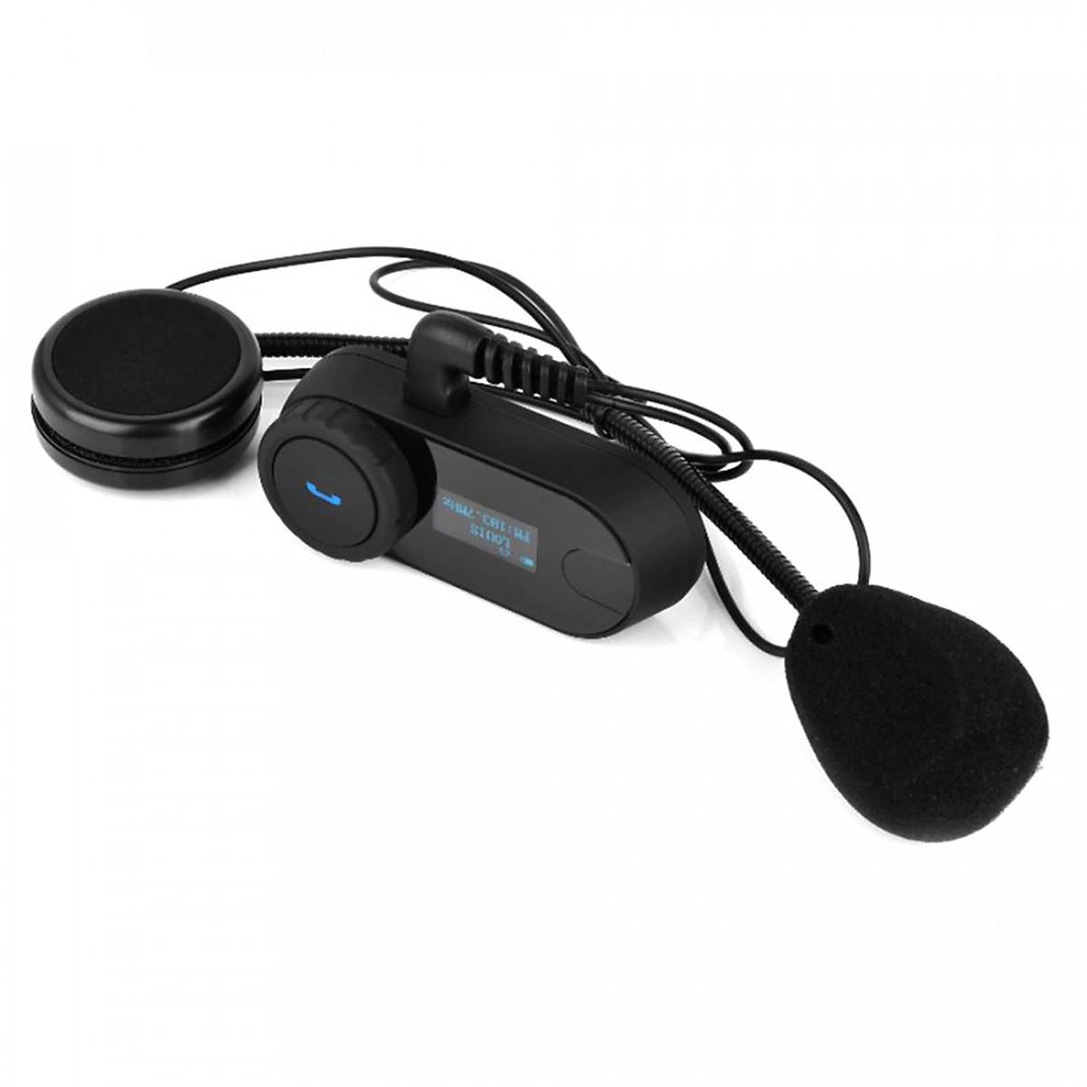 Bộ Tai Nghe Bluetooth Gắn Mũ Bảo Hiểm Chống Nước 800m Freedconn Tcom-SC X2
